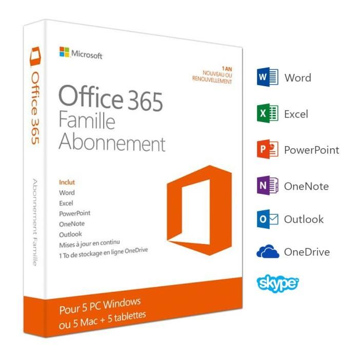 abonnement microsoft office