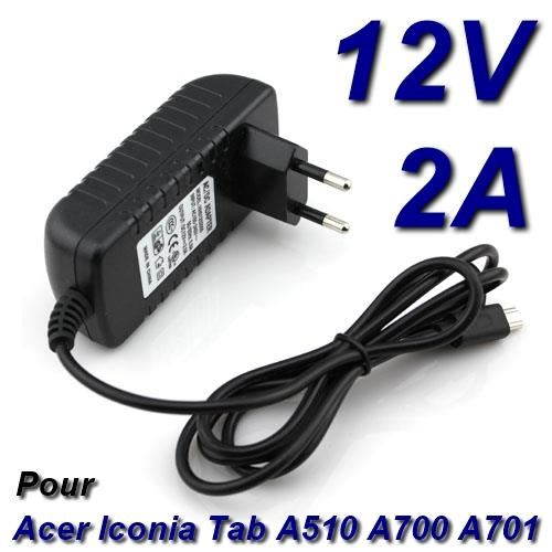 acer iconia tab a510 chargeur