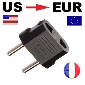 adaptateur prise américaine française