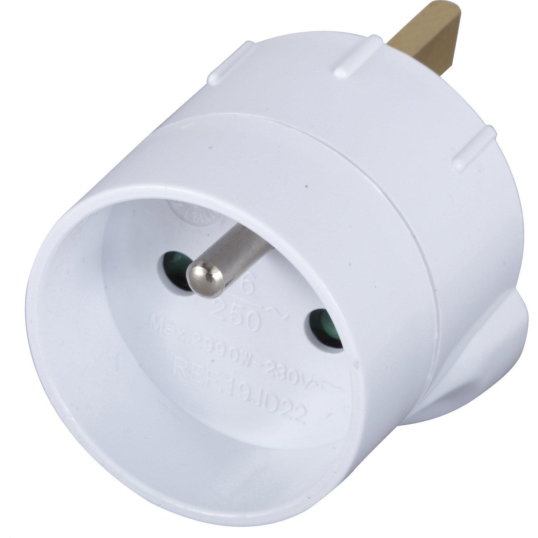 adaptateur prise electrique anglaise