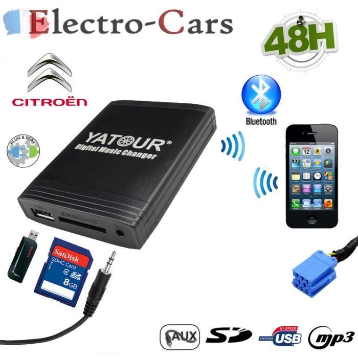 adaptateur usb bluetooth autoradio