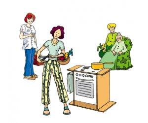 aide a domicile dessin