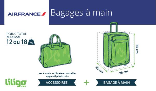 air france bagage main