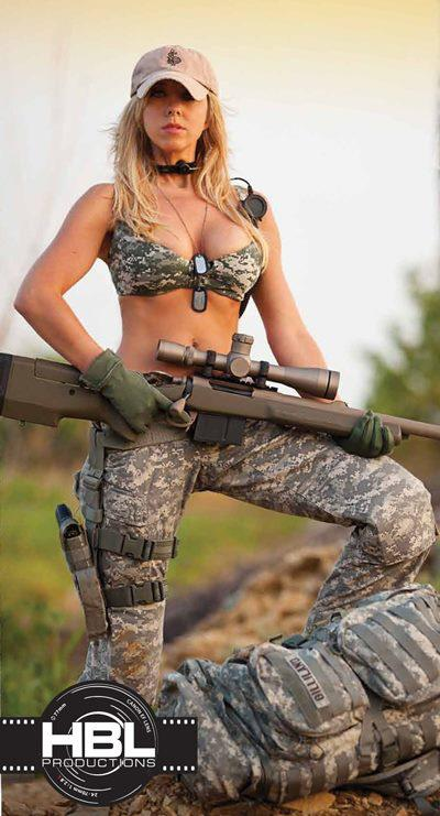 airsoft fille