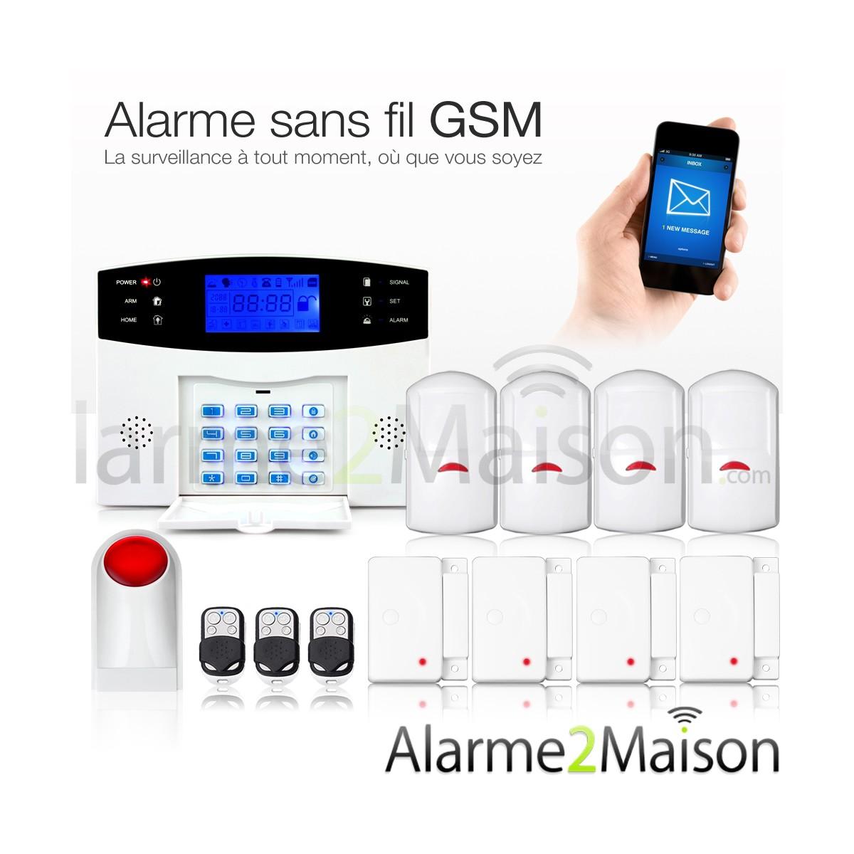 alarme maison sans abonnement