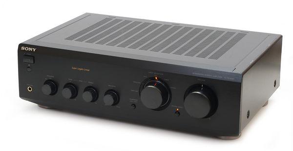 amplificateur hifi sony