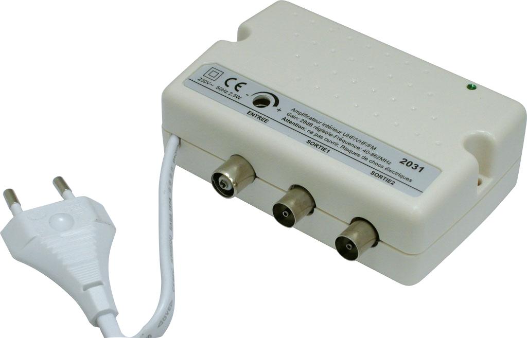 amplificateur tv interieur
