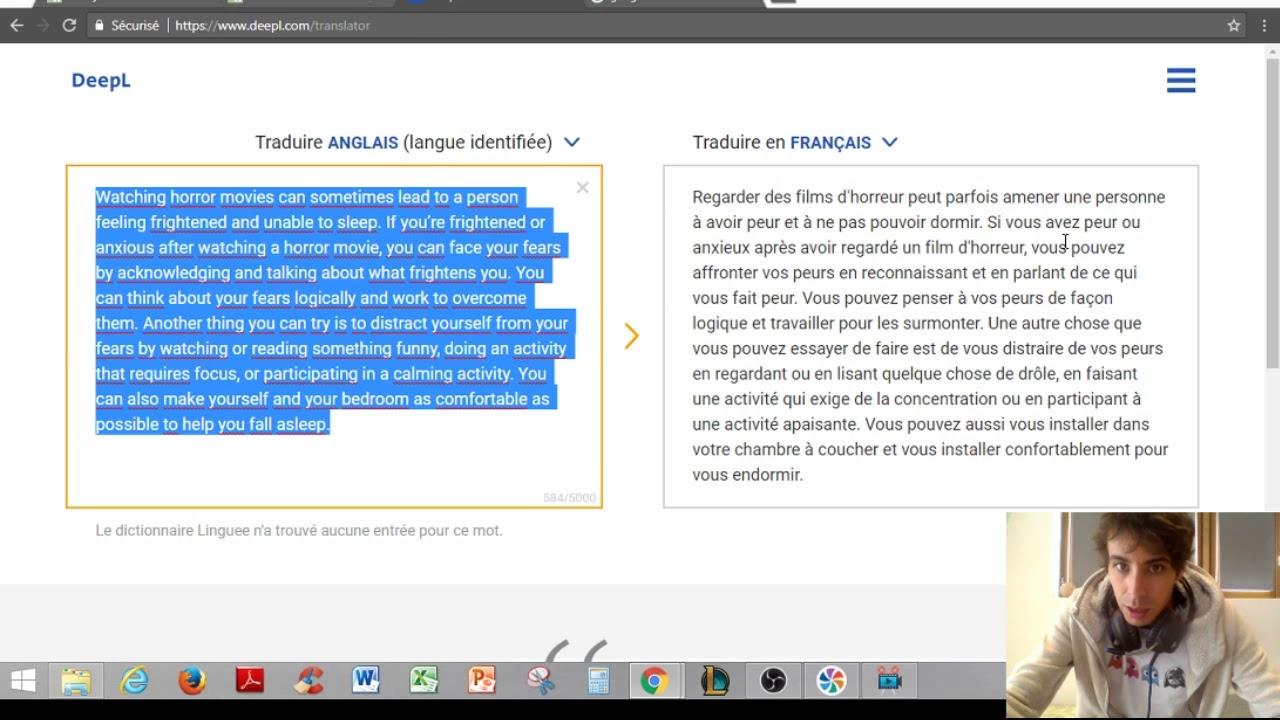 anglais traduction français