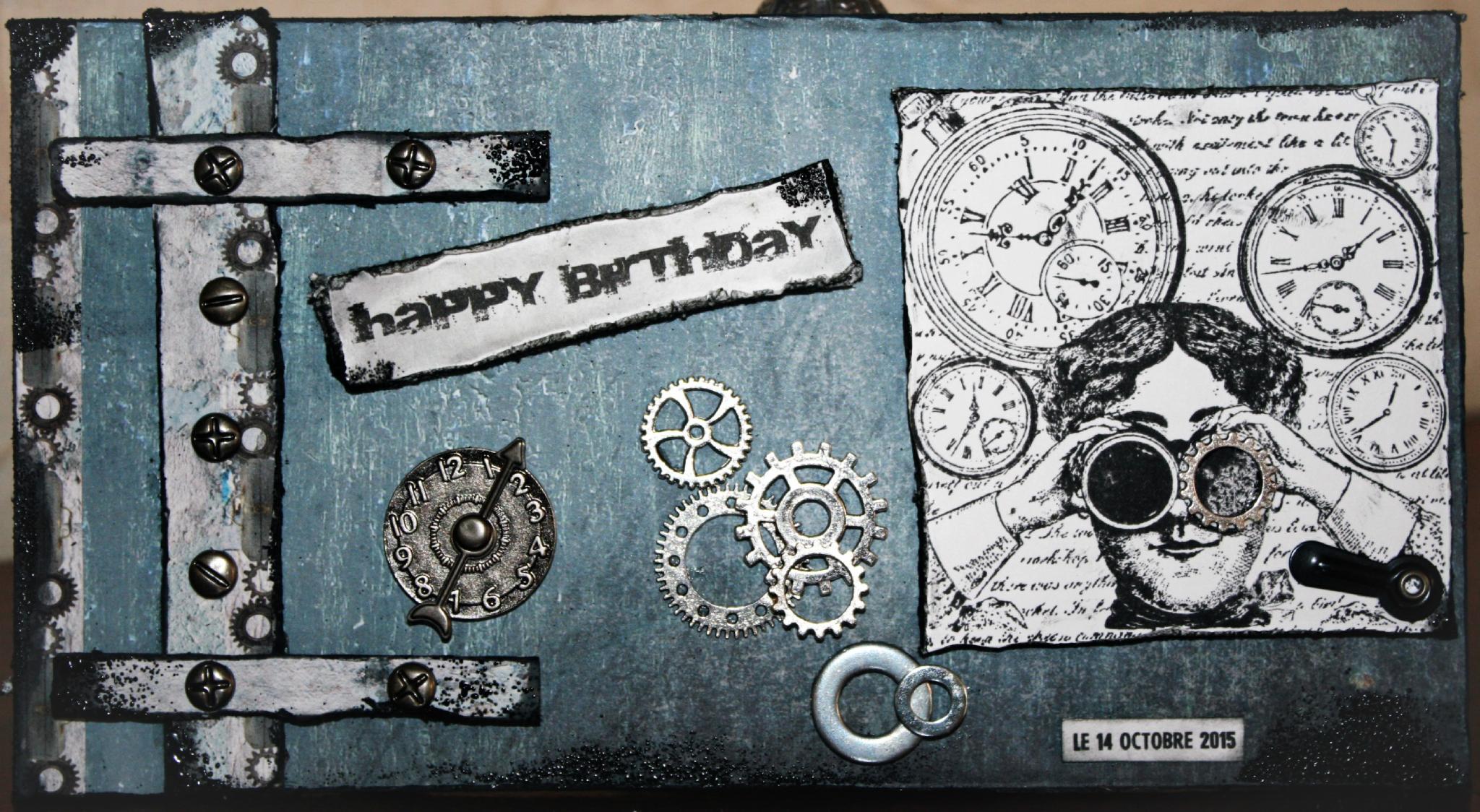 anniversaire steampunk