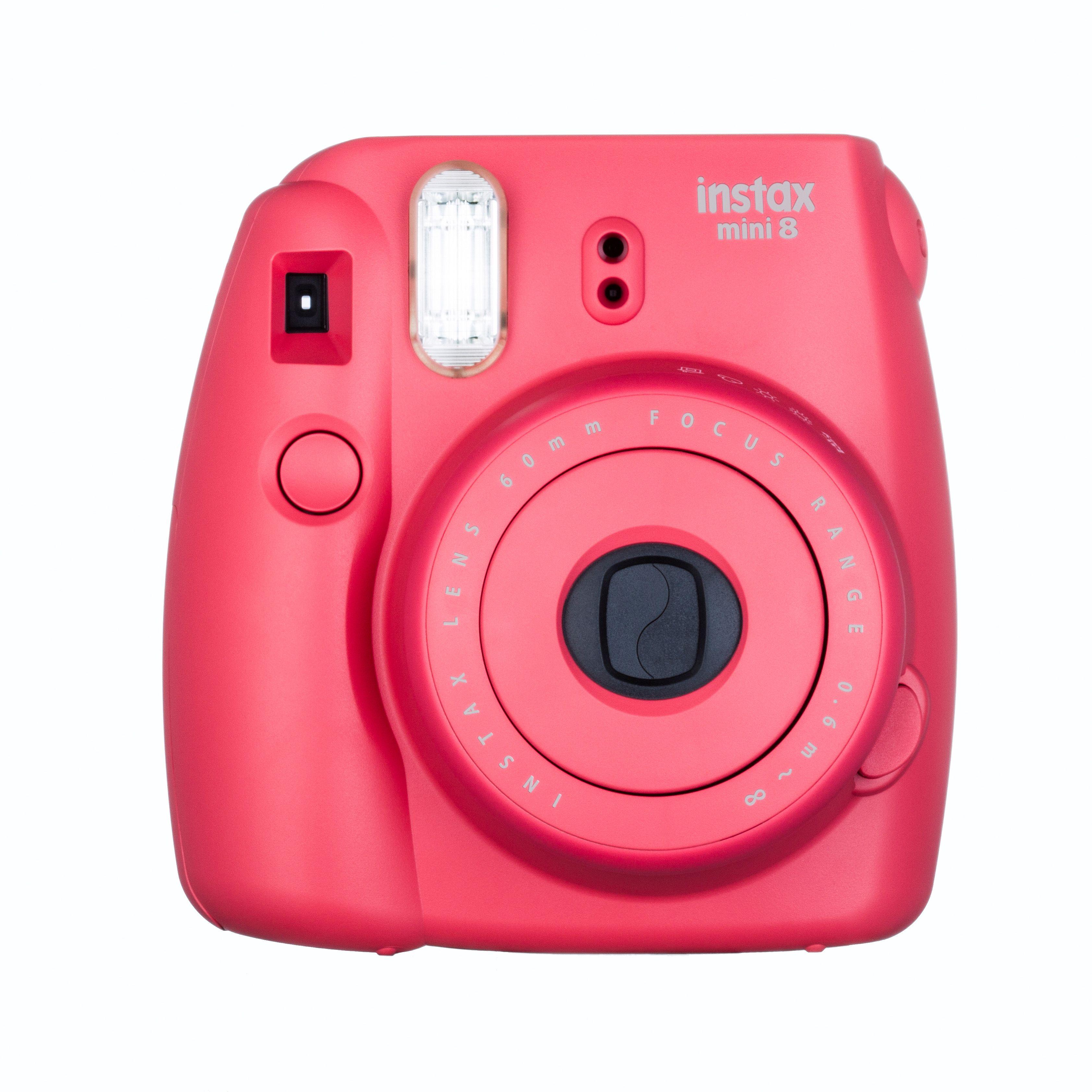 appareil photo instantané fujifilm instax mini 8 rouge