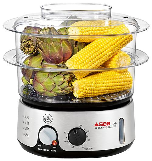 appareil pour cuire les légumes à la vapeur