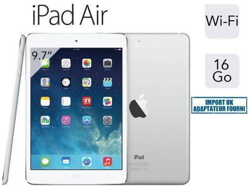 apple ipad air 32go wi-fi argent