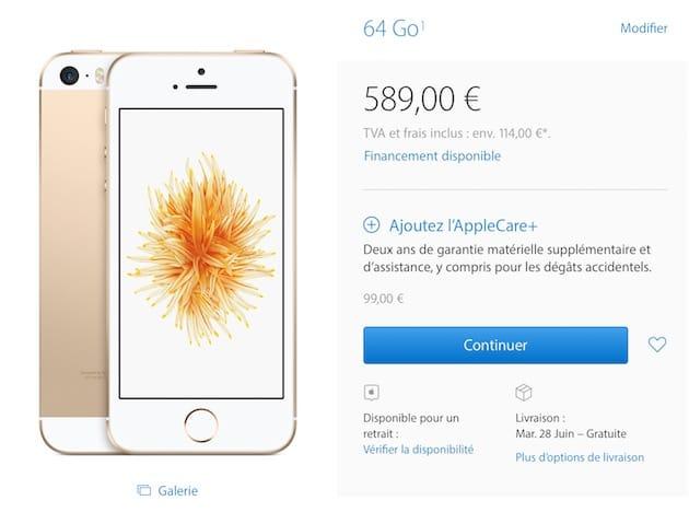 apple store garantie iphone