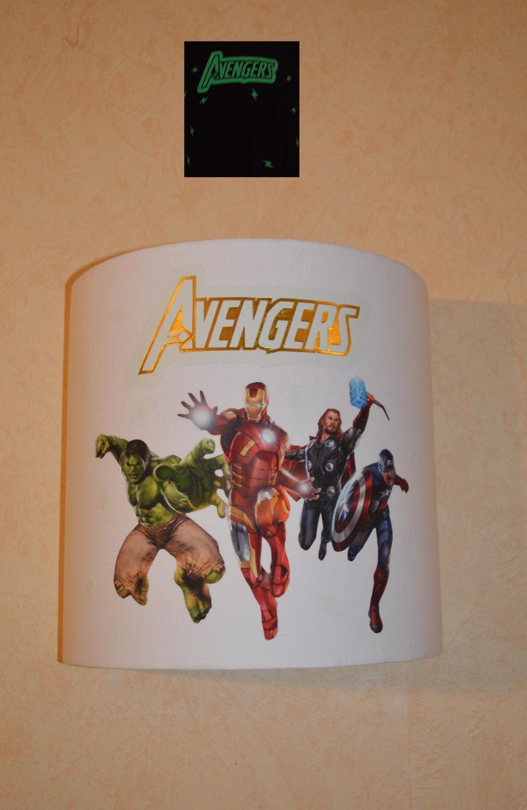 applique murale avengers