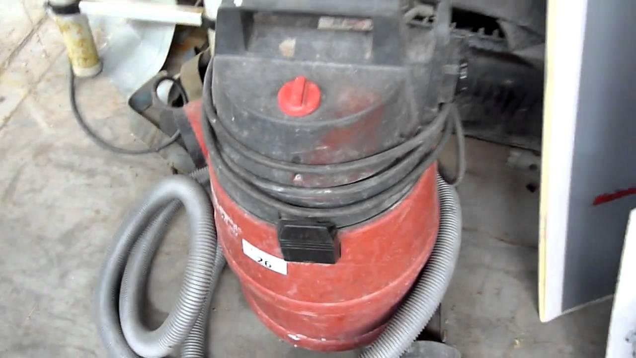 aspirateur hilti vcu 40
