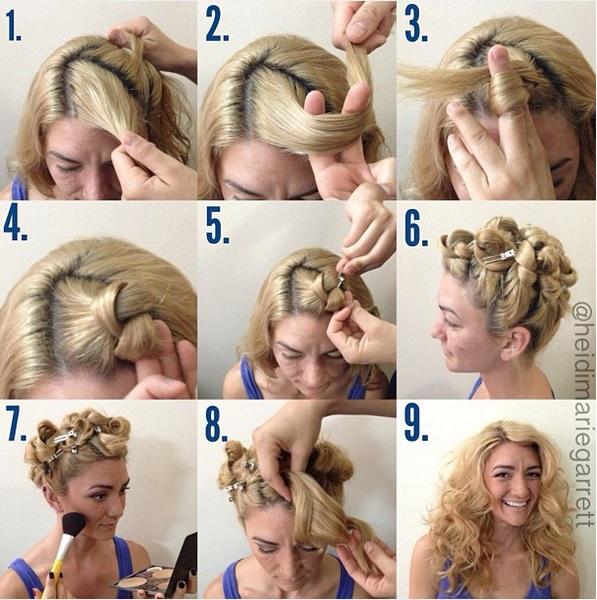 avoir les cheveux ondulés sans fer