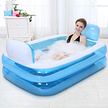 bain gonflable adulte