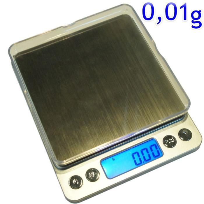 balance de cuisine précision 0.01 g