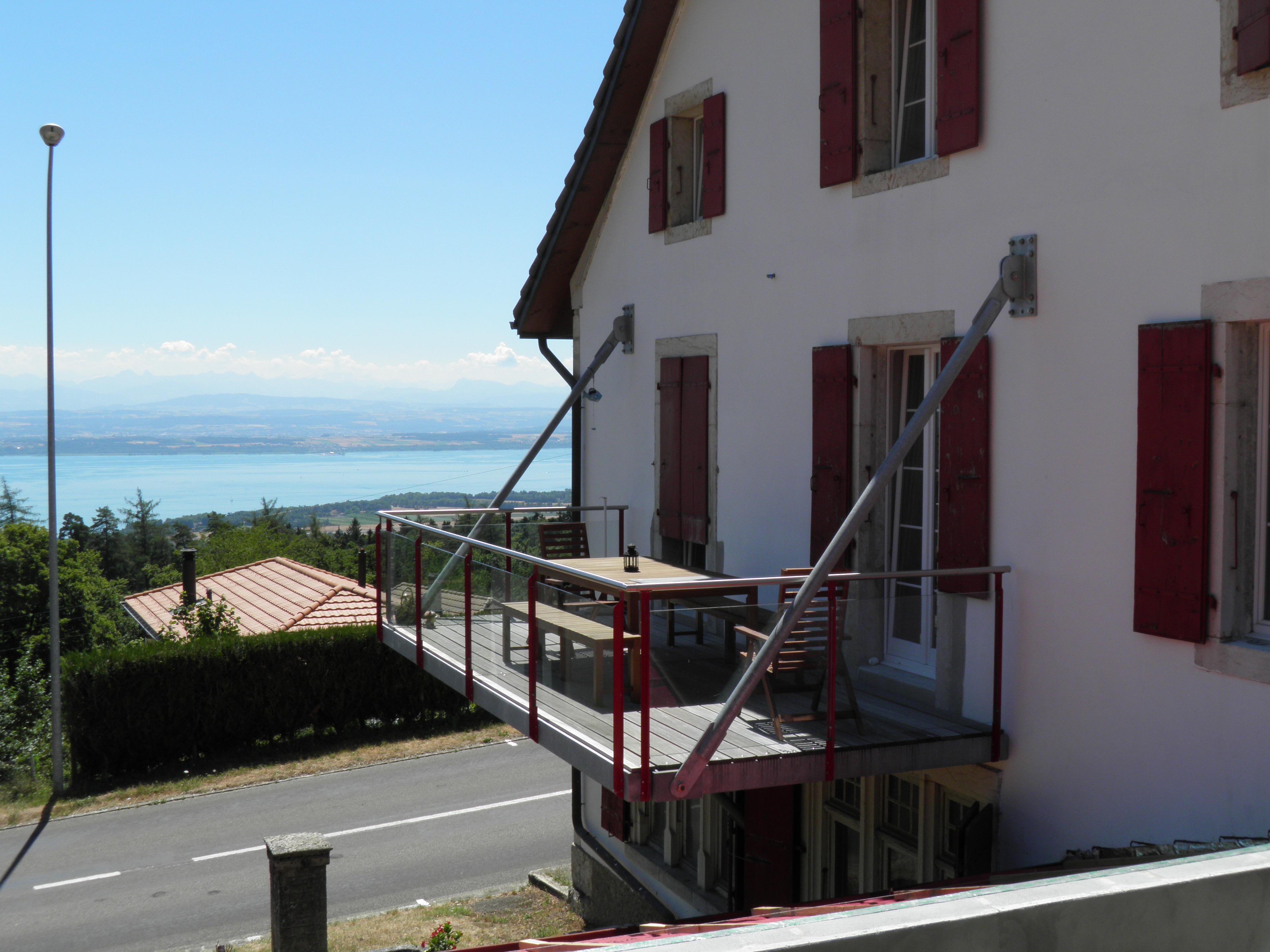 balcon suspendu
