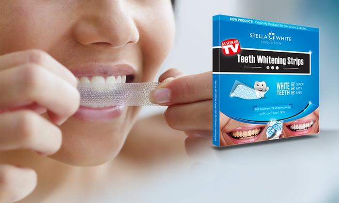 bande pour blanchir les dents