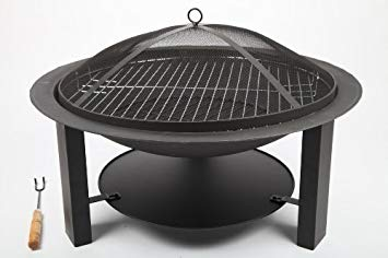 barbecue brasero en fonte