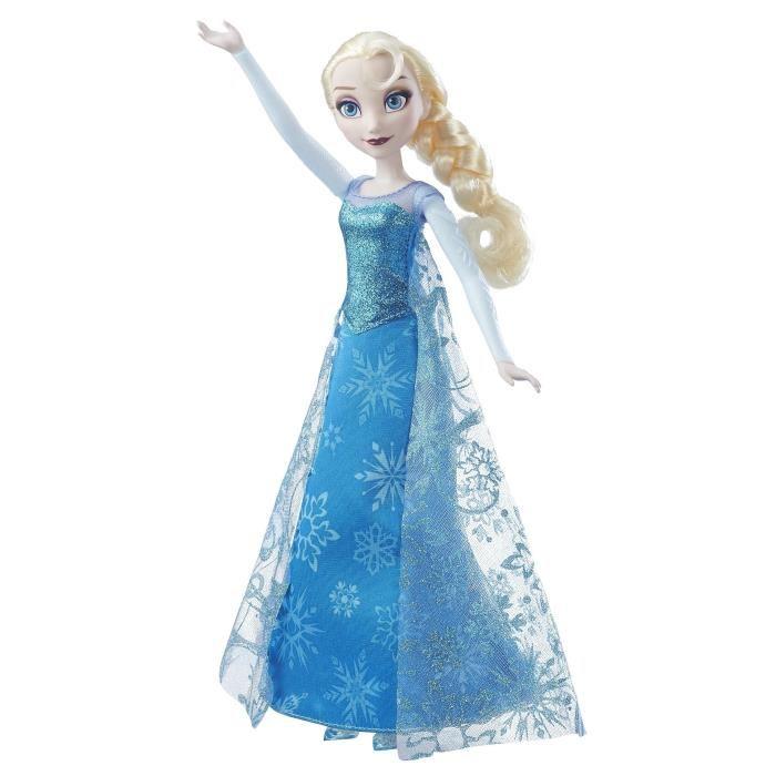 barbie reine des neiges qui chante