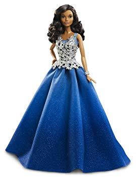 barbie robe bleue