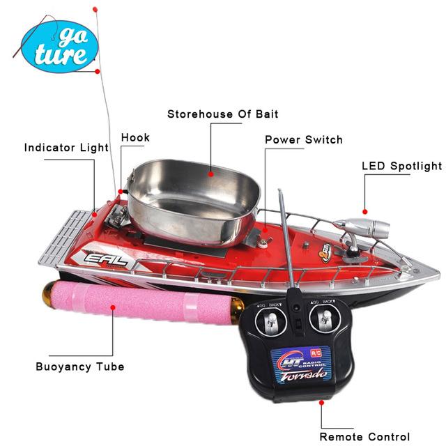 bateau telecommande peche