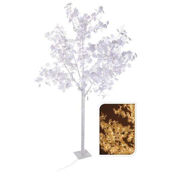 arbre lumineux blanc