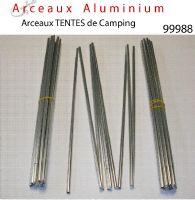 arceaux tente aluminium