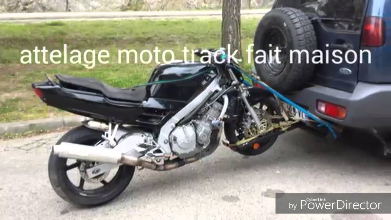 attelage moto