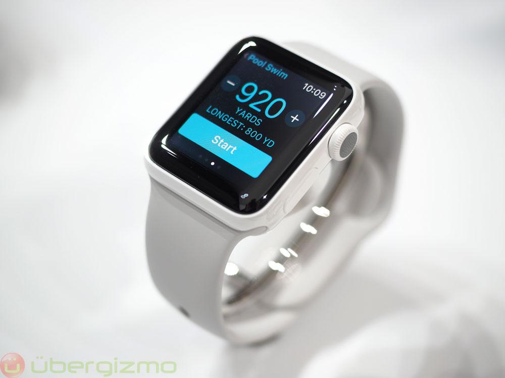 autonomie apple watch 2