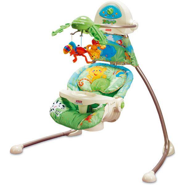 balancelle bébé fisher price jungle