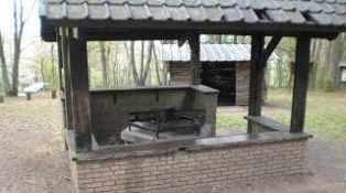 barbecue couvert en dur