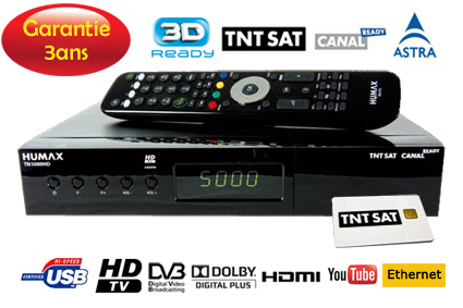 demodulateur satellite hd canal ready