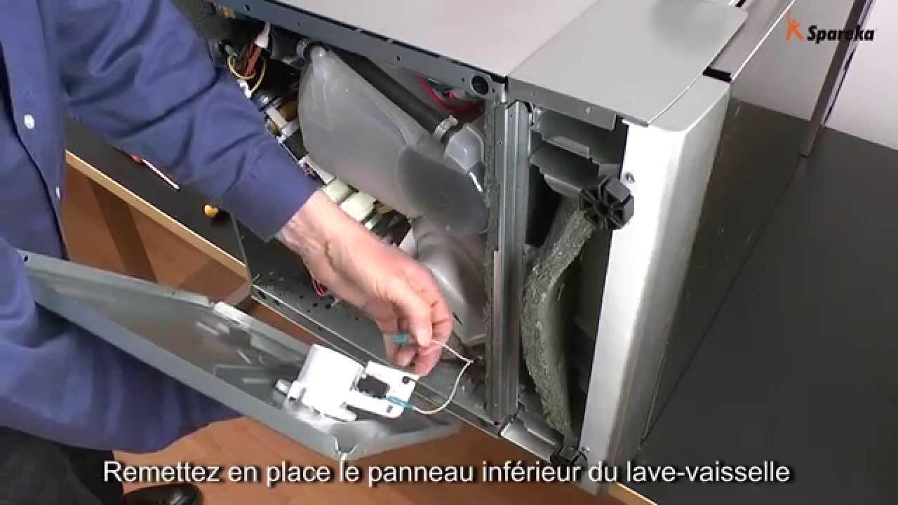 demontage pompe lave vaisselle bosch