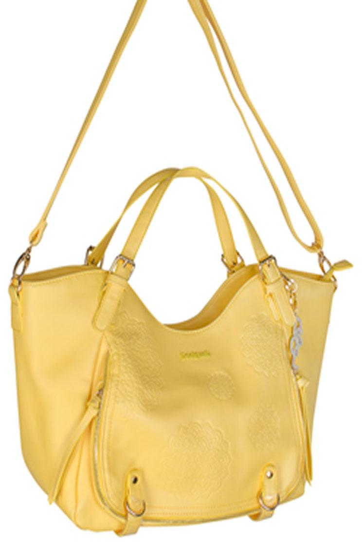 desigual sac jaune