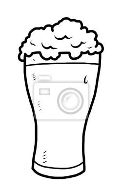dessin verre de biere