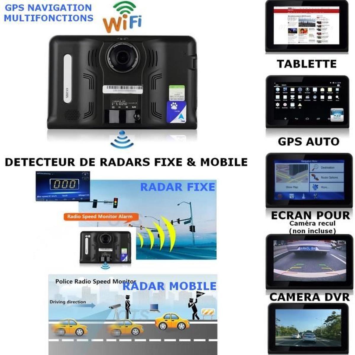 detecteur radar android