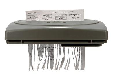 detruire papier machine