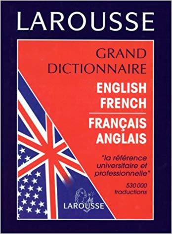 dictionnaire francais anglais