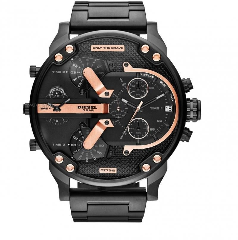 diesel only the brave montre