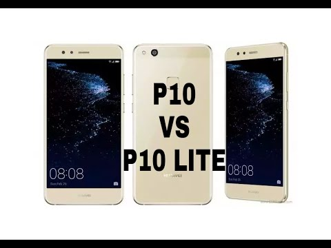 difference huawei p10 et p10 lite