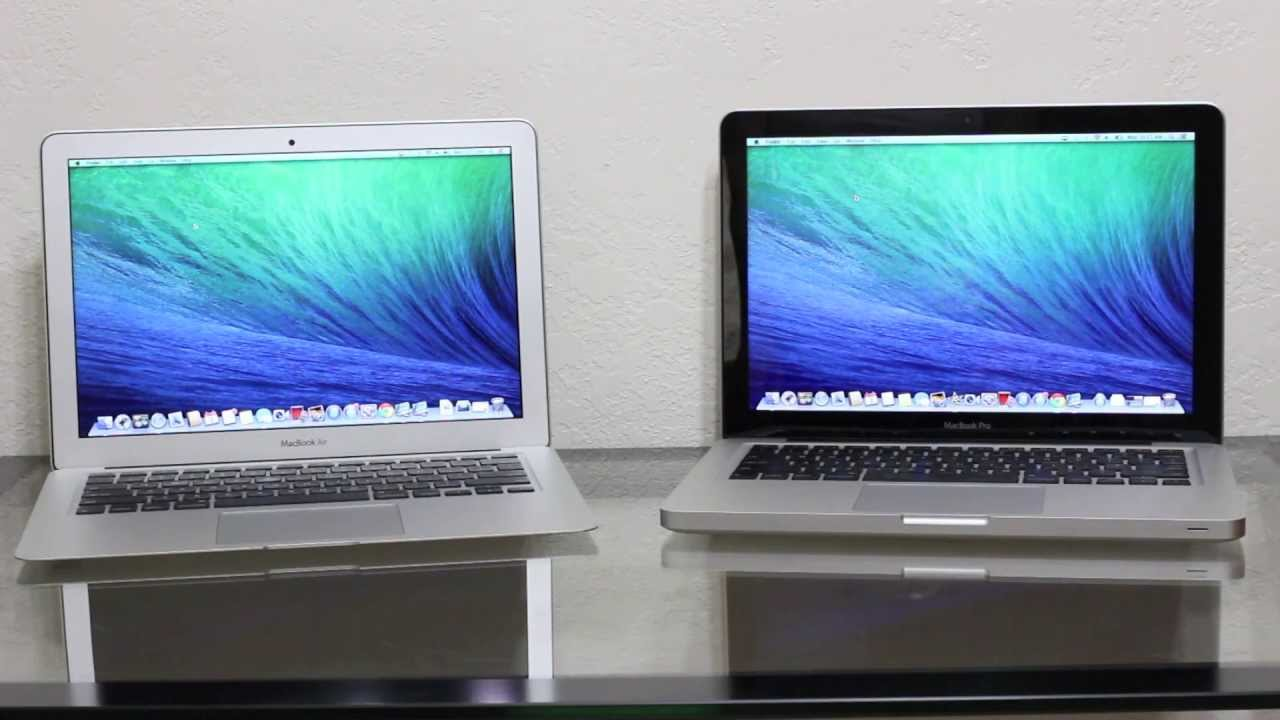 différence macbook pro et macbook air