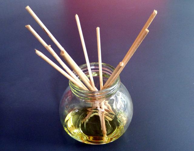 diffuseur huile essentielle fait maison