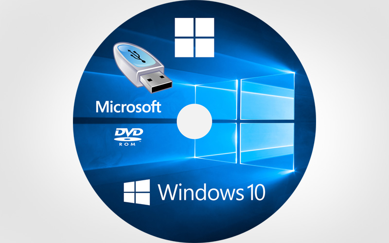 disque de reparation windows 10