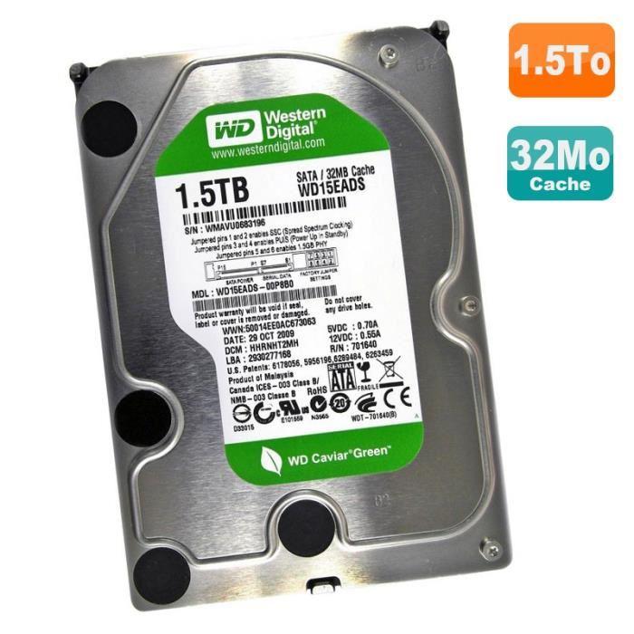 disque dur 1.5 to