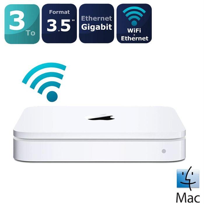 disque dur wifi mac