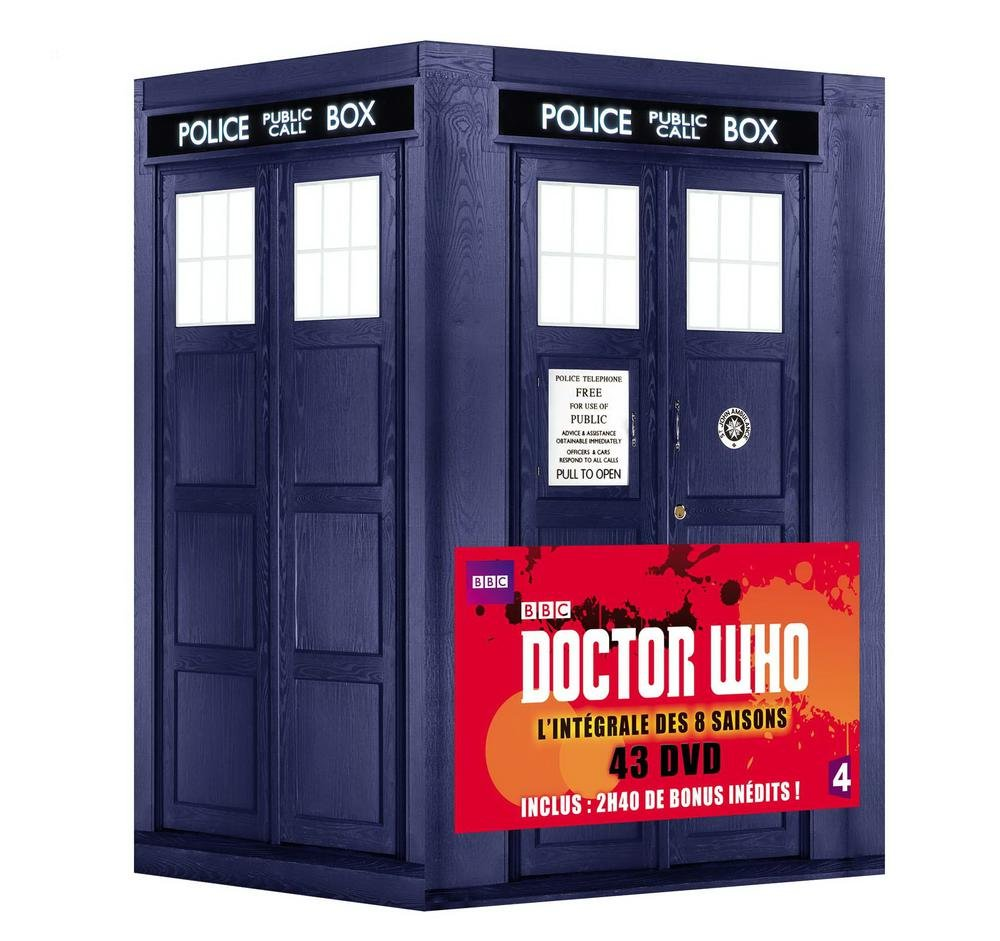 doctor who coffret