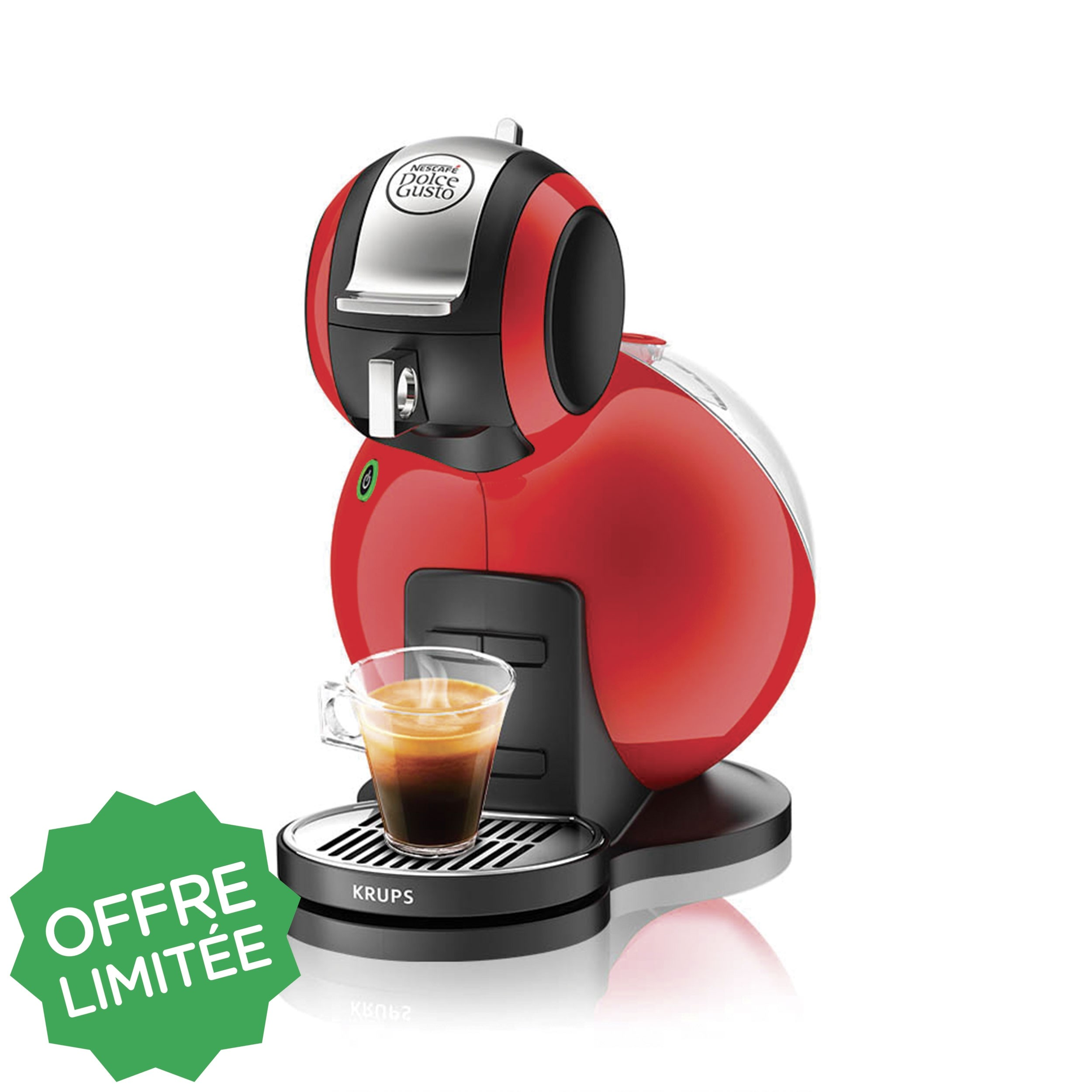 dolce gusto krups rouge